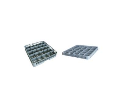 Rack + extensible 25 compartimientos 14.6 cms.