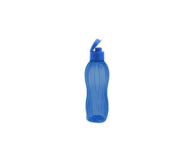 Botella Sport plásticas con tapón 800 ml Azul.