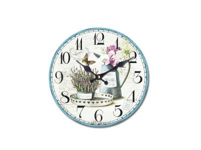 Reloj de pared diseño Vintage Natural