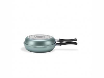 Omeletera aluminio Chill Turquesa Brinox