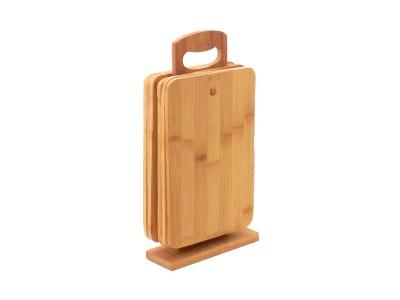 Tabla de picar set x 6 Medidas 30 x 15 x 07 cm Bamboo Selecta.