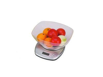 Balanza de cocina digital con recipiente Max 5 kilos