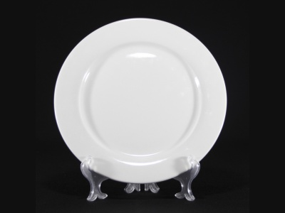 Plato llano con ala Ø 28 cm cerámica Goldsky