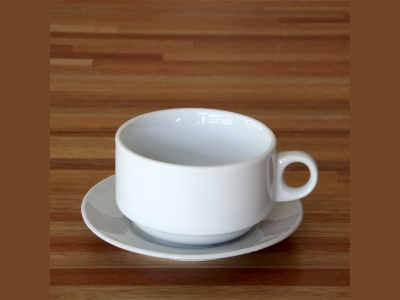 Taza Desayuno apilable 280 ml Goldsky