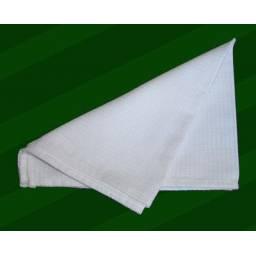 Repasador Dohler 100% algodón tercilar waffle blanco 41 x 66 cm.