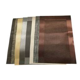 Mantel individual negro 45 X 30 cm Goldsky