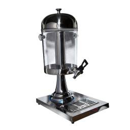 Dispensador de jugo 5 lts. acrilico y acero inox Goldsky