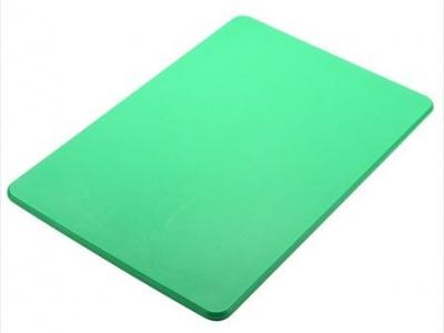 Tabla plástica 51x38x1.25cm verde Sunnex