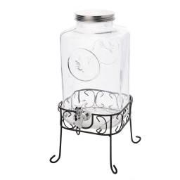 Dispensador de vidrio 6ltrs.