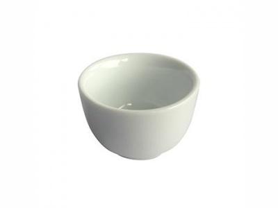 Ramequin redondo D5H3.2cm porcelana blanca