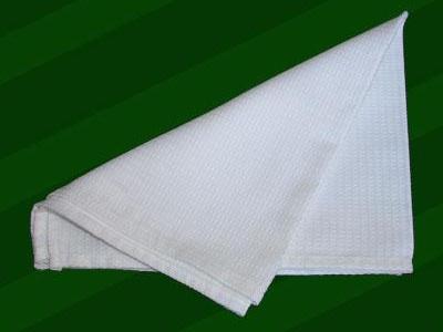 Repasador Dohler 100% algodón tercilar waffle verde 41 x 66 cm.