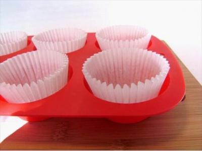 Molde para 12 muffins de silicona. Corrina.