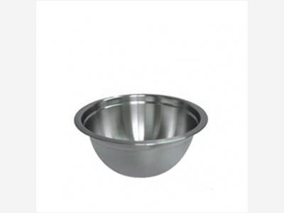 Bowls acero inoxidable 24 cm.