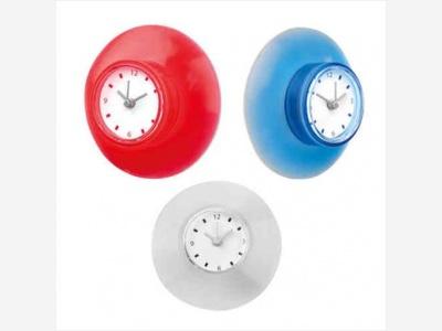 Reloj cventosa 15x4x15cm impermeabilizante