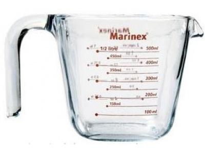 Jarra medidora 0.5 ltrs Marinex