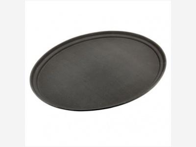 Bandeja oval antideslizante  56 x 67,5 cm. Sunnex