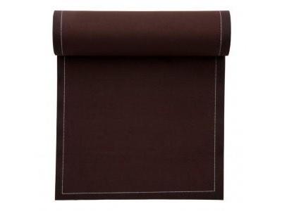 Servilletas My Drap 100% algodón marrón topo 20 x 20 cm.