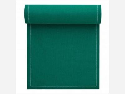 Servilletas My Drap 100% algodón verde esmeralda 20 x 20 cm.