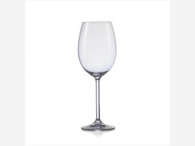 Copas de agua 450 ml. Lara-Bohemia Martina Pack x 6 unidades
