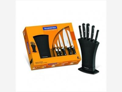 Cuchillos Para Cocina Set x 7 piezas Ultra Tramontina.