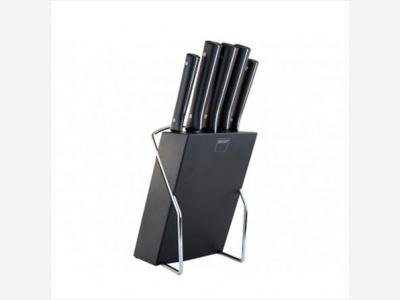 Set de 6 cuchillos con Taco Soporte Sharp Magefesa