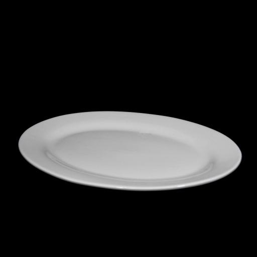 Fuente oval 35 x 25 cm cerámica Goldsky