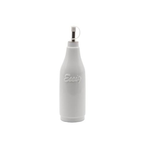 Aceitera 350 ml cerámica blanca Goldsky