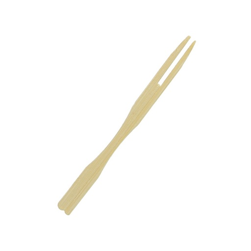 Pincho tenedor bamboo 8.5 cm 50 unid. Goldsky