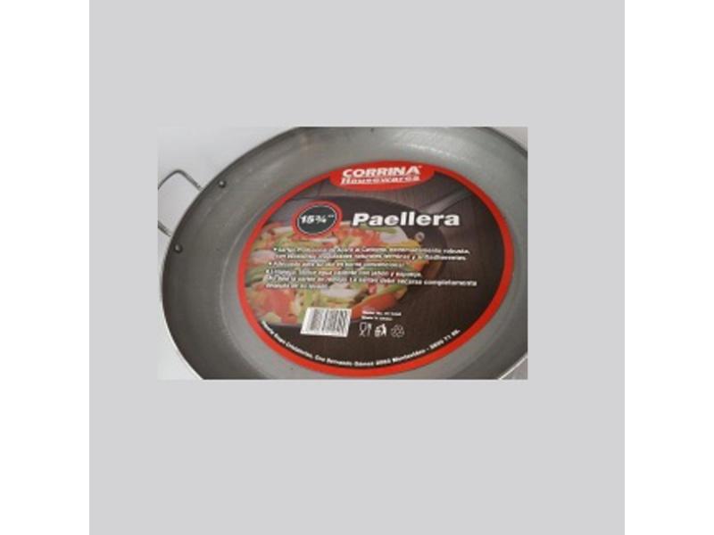 Paellera Corrina acero carbono 40 x 5 cm x 3 mm.