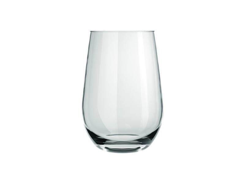 Vaso vidrio de refresco 460 ml. Línea Dubai