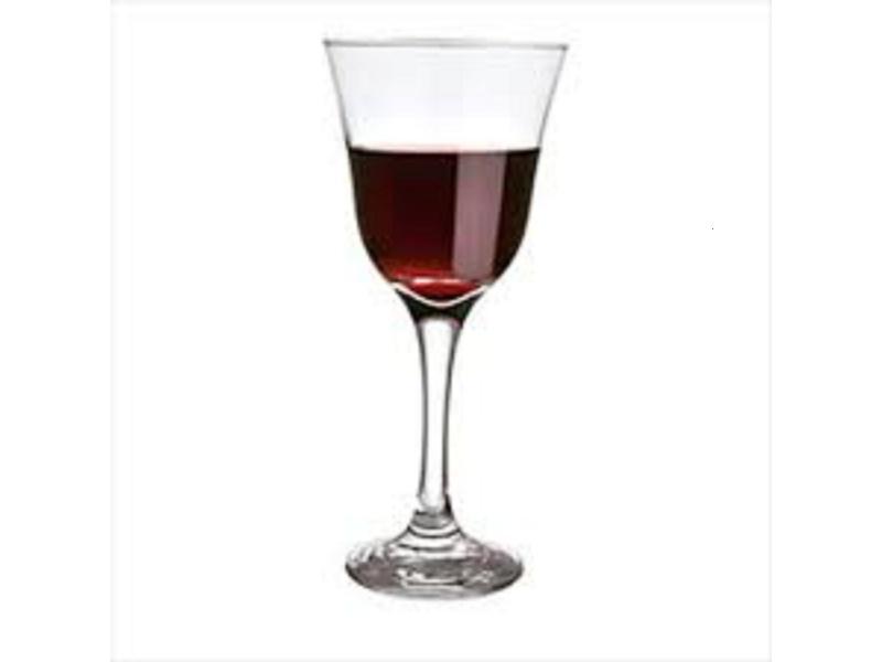 Copa Vidrio Vino 250 ml. Jazmin NF Goldsky