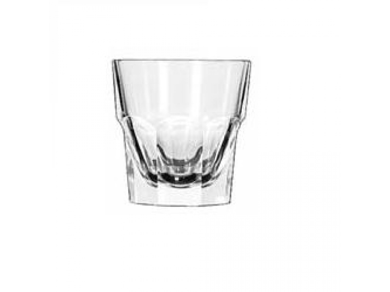Vaso vidrio de cafe cortado 207ml. Libbey