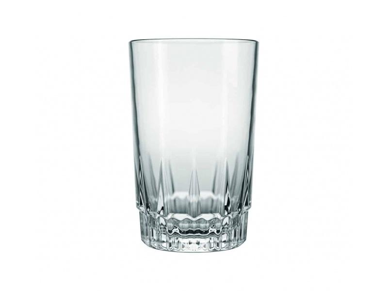 Vaso Vidrio Agua 240 ml. Vegas NF Goldsky
