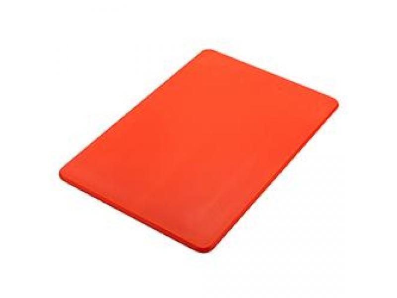 Tabla plástico Cocina 51x38x1.25 cm Rojo Sunnex