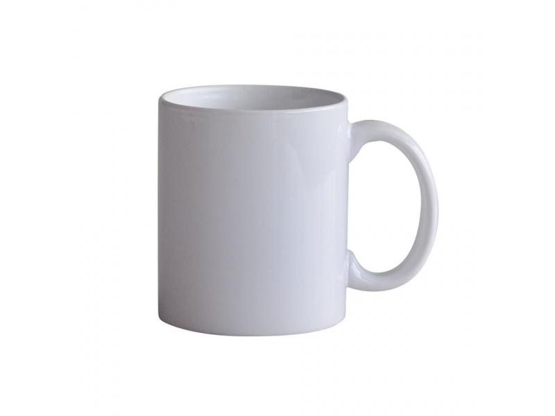 Taza Mug 310 ml Blanca Sublimable.
