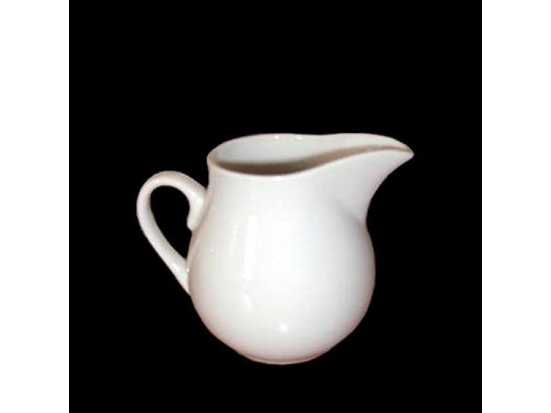 Cremera 240 ml Ceramica Blanca.