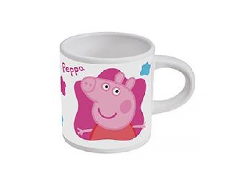 Mug ceramica 210ml peppa pig la cerdita c/caja