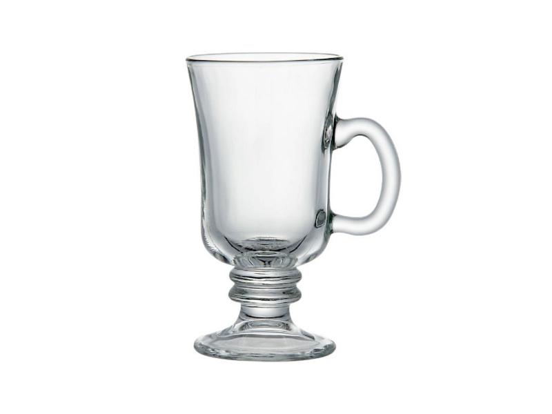 Taza Copa Irish CofeeVidrio 250 ml. Set x 6 unidades.