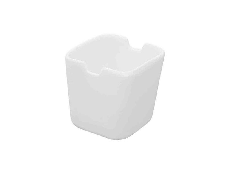 Azucarero 5 x 5.5 cm p/Bolsitas Porcelana Blanca