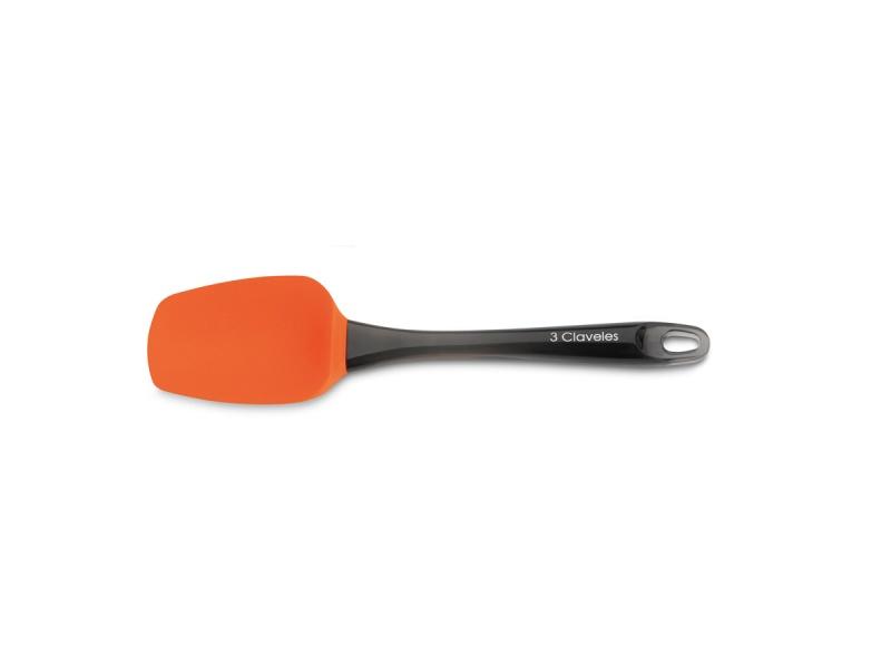 Espátula cuhcara Silicona 25,5 cm 3 Claveles.