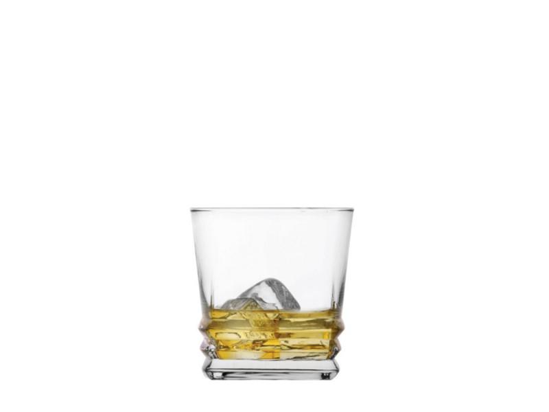 Vaso vidrio Whisky 315 cc. Elegan Set x 6.