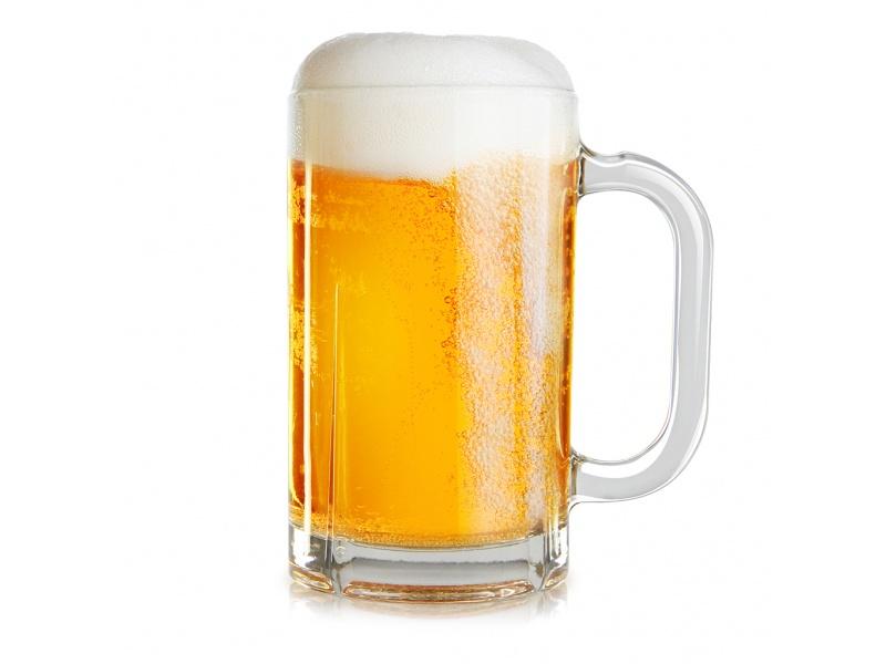 Jarra Vidrio Cerveza 380 ml. Monaco Pack x 6 piezas