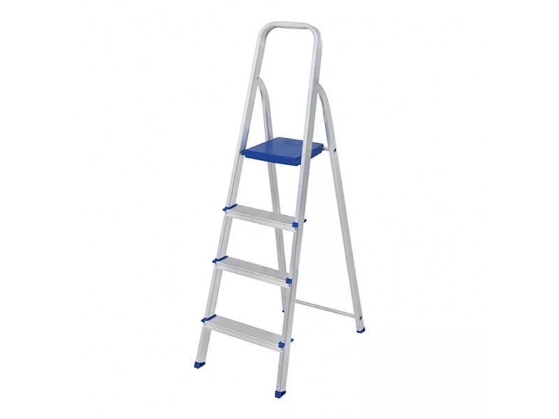 Escalera aluminio 4 escalones Mor