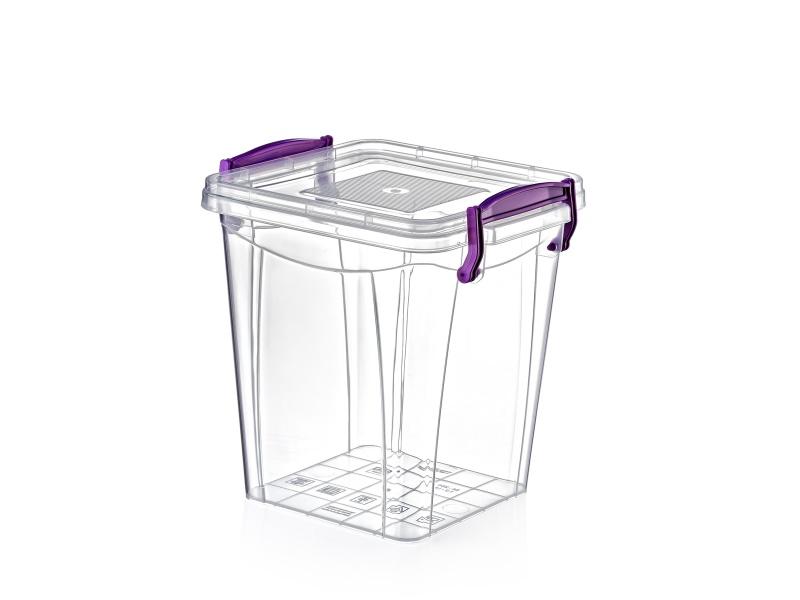 Caja hermética plástica 1.8 lts con asas