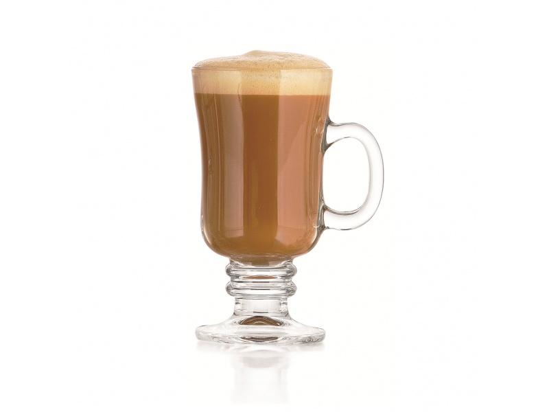 Taza Copa Irish Coffe Vidrio 250 ml. Crisa