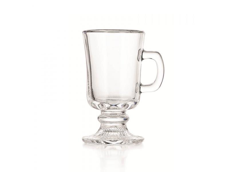 Taza vidrio copa Irish Coffee 142 ml Crisa