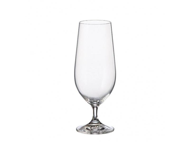 Copa Cristal Cerveza 380 ml. Martina Lara Bohemia Pack x 6 piezas