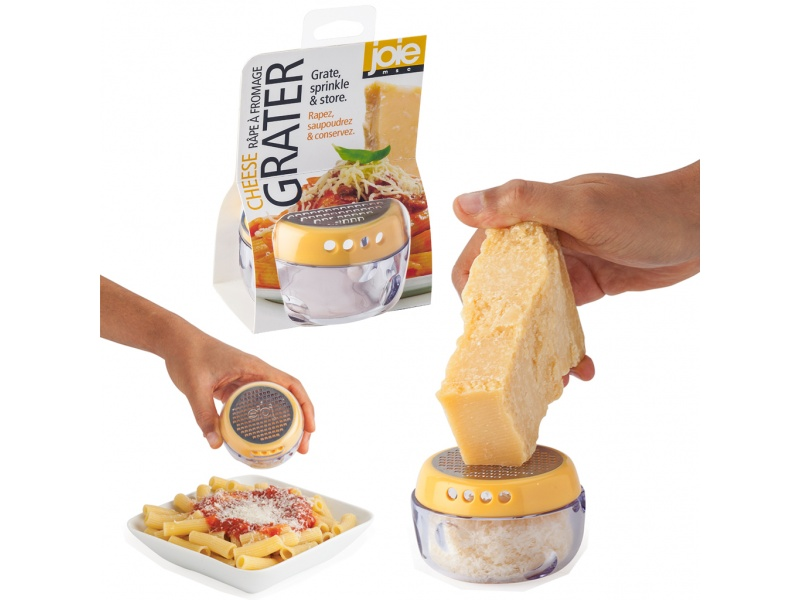 Rallador, espolvoreador y contenedor de queso de Joie