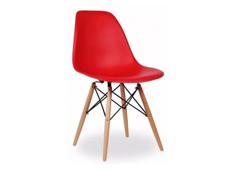 Silla Eames roja