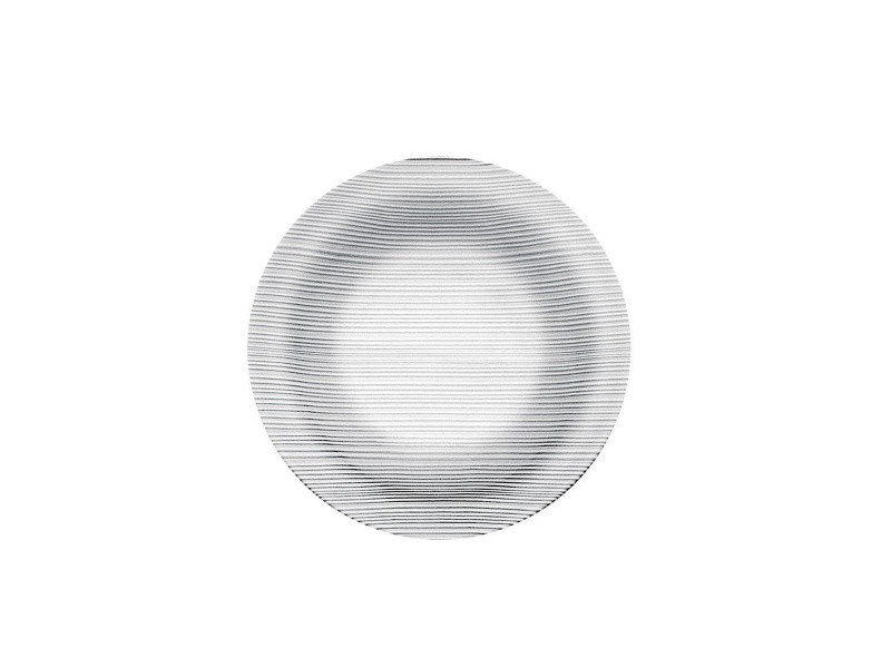Plato hondo 23 cm vidrio templado Diamante nadir figuereido